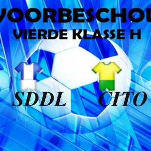 Eerste thuiswedstrijd voor SDDL