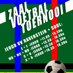 Zaalvoetbal voor jeugd