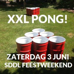 XXL Pong tijdens SDDL Feestweekend