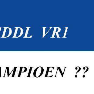 Nu wel kampioenswedstrijd SDDL VR1