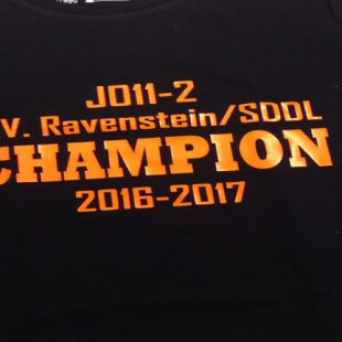Ravenstein/SDDL JO11-2 overtuigend kampioen!!!