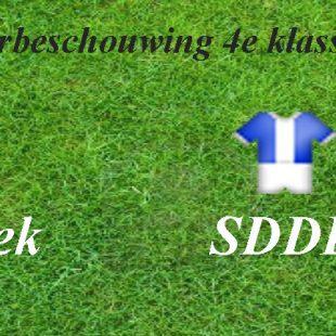 Voorbeschouwing Milsbeek 1 – SDDL 1