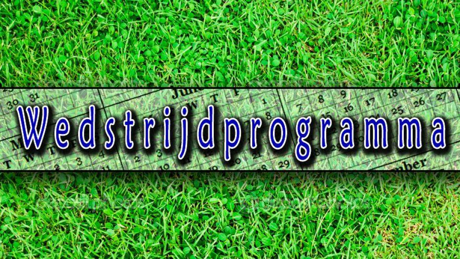 Programma, uitslagen en standen nu weer up to date