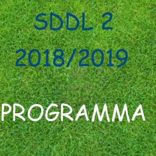 Wedstrijdschema SDDL 2
