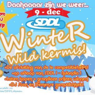 SDDL 1 afgelast, wel winterwildkermis